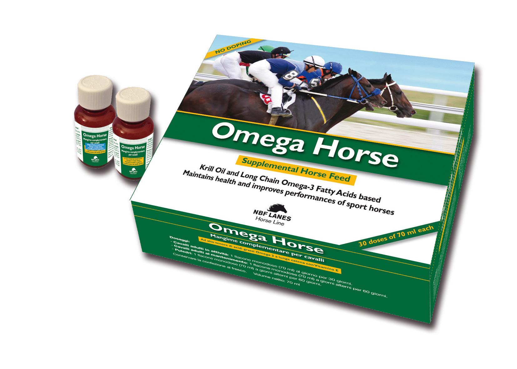 Packaging Omega Horse NBF